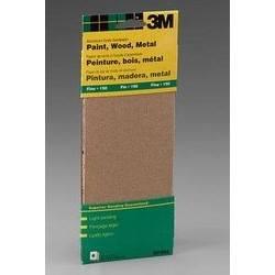 """Lija para madera en Blister 3-2/3"""" X 9"""" con 6 pliegos de Grano Mediano"""