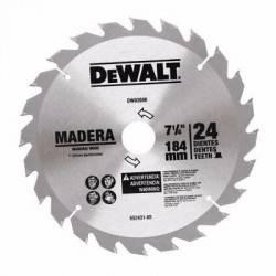 """Disco de Sierra 7 1/4"""" DW03080 DeWalt"""