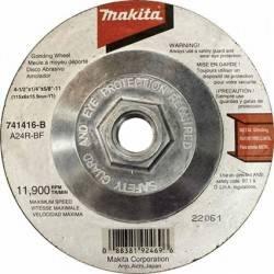 Disco Abrasivo 4 1/2'Desbaste C/Adaptador Makita N.R.