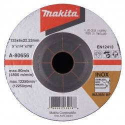 Makita A-80656 - Disco abrasivo Inox, 125 mm