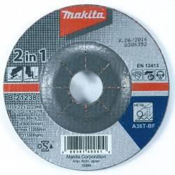 "Disco Abras-Corte Y Desbaste 4-1/2"" X 3.2mm X 7/8"" 2 En 1 A36t"