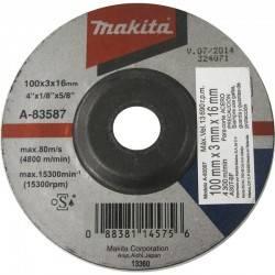 Disco Makita A-83587 para corte de metal 4-1/2