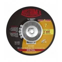 Disco de Desbaste para Metal Tipo 27 7X1/4X5/8-11H ZRA24R4BFP