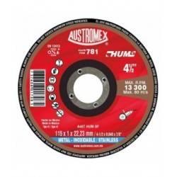 Disco de Corte para Metal 4-1/2X0.040X7/8 A46T HUM