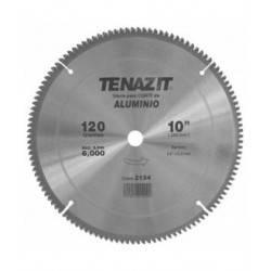 Sierra Metalica para Corte 10X0.0110X5/8 120 DIENTES P/Aluminio