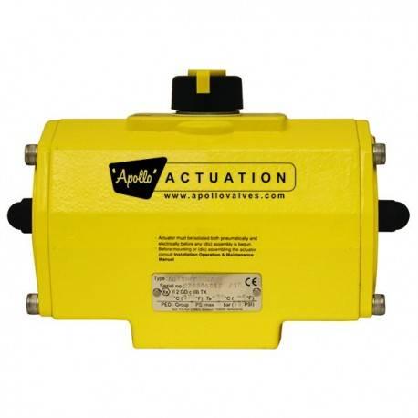 Actuador neumático, serie A0025-A4000