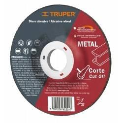 Disco para corte de metal, tipo 27, diámetro 4-1/2'