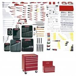 Juego maestro industrial 397 piezas con gabinetes