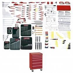 Juego maestro industrial 396 piezas con gabinete
