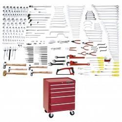 Juego maestro industrial 270 piezas con gabinete 9957XP
