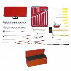 Juego básico industrial 72 piezas con caja D7