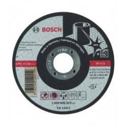 """Disco Abrasivo Corte Expert Inox Cto Recto 4-1/2""""X3/32"""" 2608600319 Bosch"""