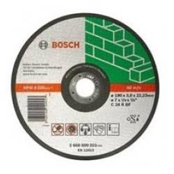 Disco de corte recto para piedra -2608600320 BOSCH