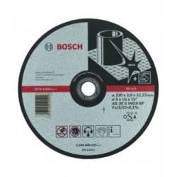 """Disco Abrasivo Corte Expert Inox Cto Recto 9""""X1/8"""" 2608600325 Bosch"""