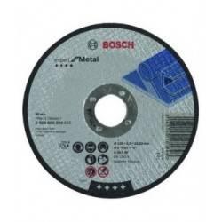 """Disco Abrasivo Corte Expert Metal Cto Recto 5""""X1/8"""" 2608600394 Bosch"""