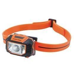 Luz frontal LED con correa para casco de seguridad tipo cachuca