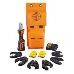 Kit de ponchadora/cortador multicable a baterías