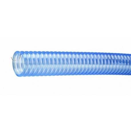 Manguera de PVC Grado Alimenticio con Alambre Antiestático de Cobre para el Manejo de Materiales