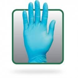 Powder Free Blue Synthetic Gloves GVP9-(SIZE)-1-SYBL