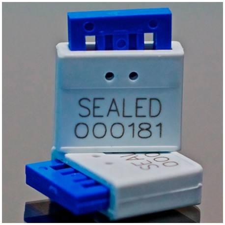 Sello de candado de plástico de una pieza - (OPP)