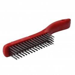Cepillo alambre de acero inoxidable 4 x 16