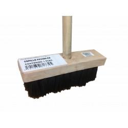cepillo para impermeabilizar rustico con bastón F03380-CB