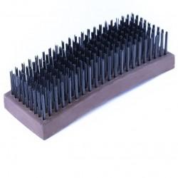 Cepillo de alambre acero 9 x 21