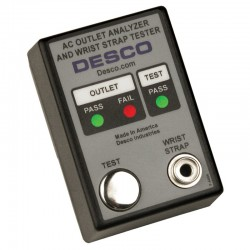 AC Outlet Analyzer and Wrist Strap Tester