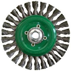 Cepillo circular de Alambre trenzado