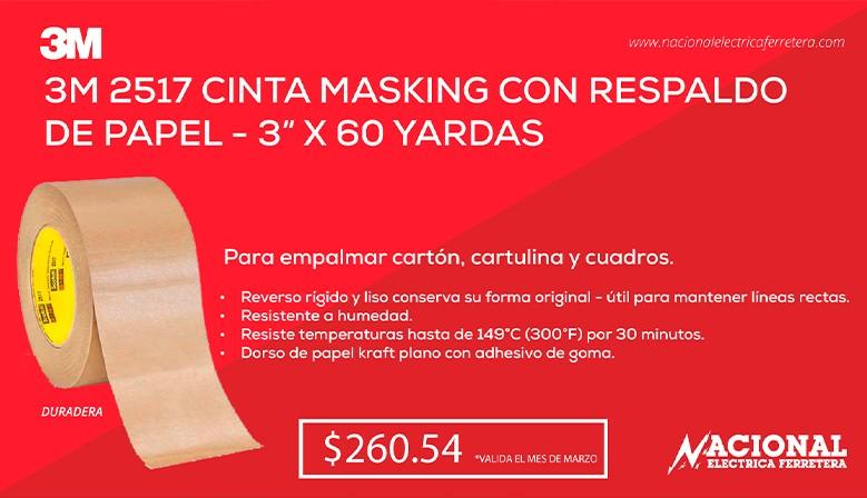 Cinta Masking 3M 2517