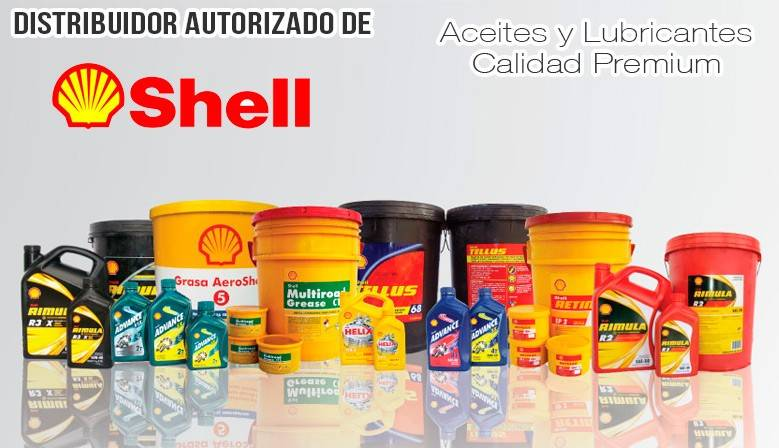 Distribución Aceites y Lubricantes Shell