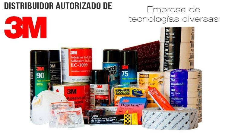 Industrias 3M productos